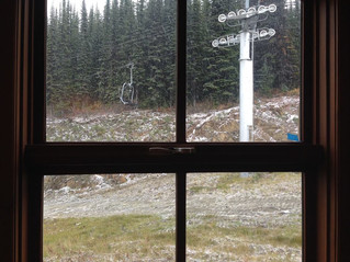 First Snow at Silver Star