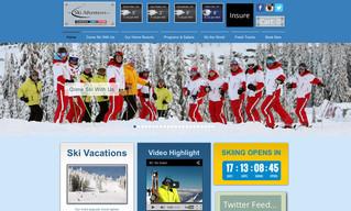 SkiAdventures.com new website