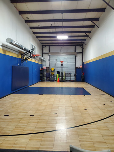 View from back of the gym.