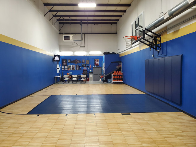View from front of the gym.