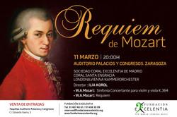 Requiem Mozart. Marzo 2016