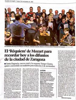 Heraldo de Aragón. Nov 2015