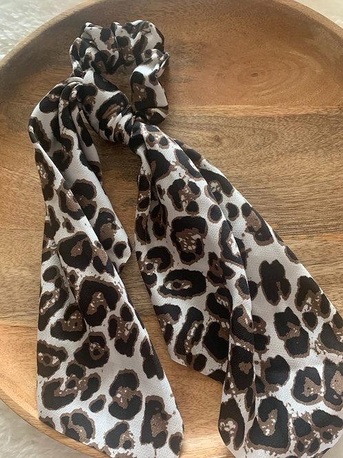 Leopard Tie Scruchies