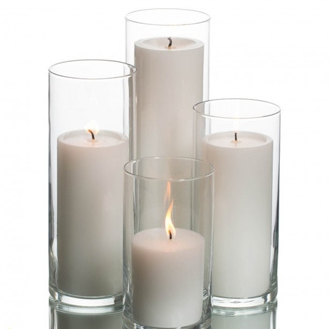 Candle Pillar Cylinder Set