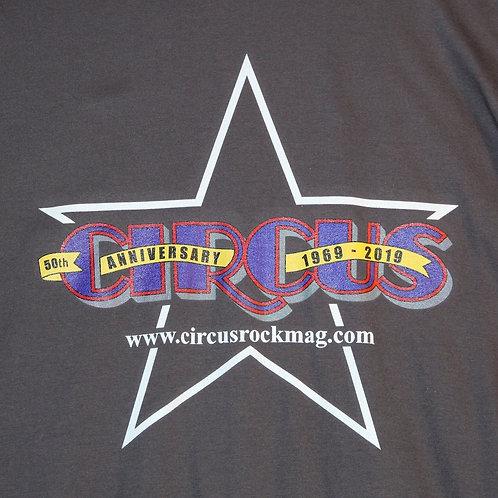 3XL - Darker Multi-Color Logo - Grey Shirt