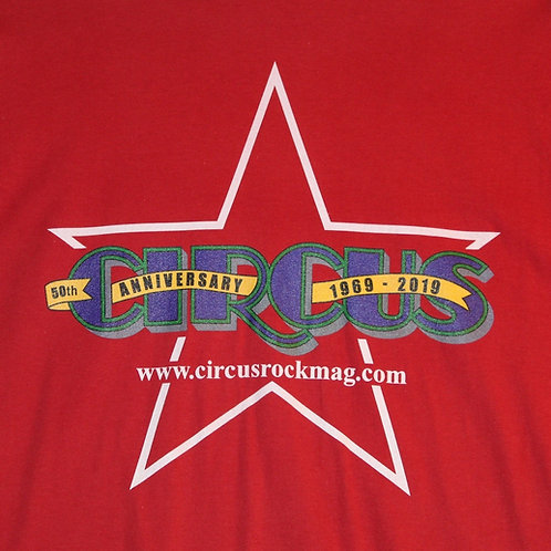 XL - Darker Multi-Color Logo - Red Shirt