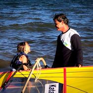 Windsurf em família