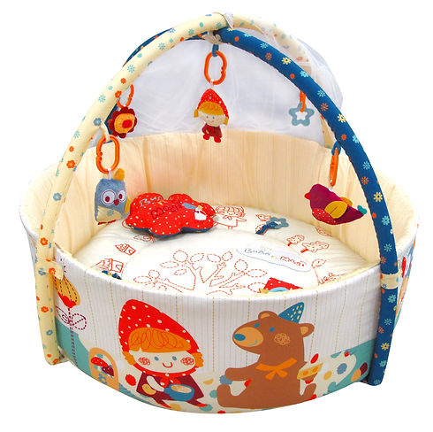 Budo N Modi Deluxe baby play gym with mo