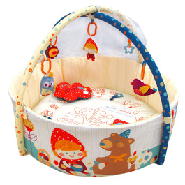 Budo N Modi Deluxe baby play gym with mosquito - 33619 copy.jpg