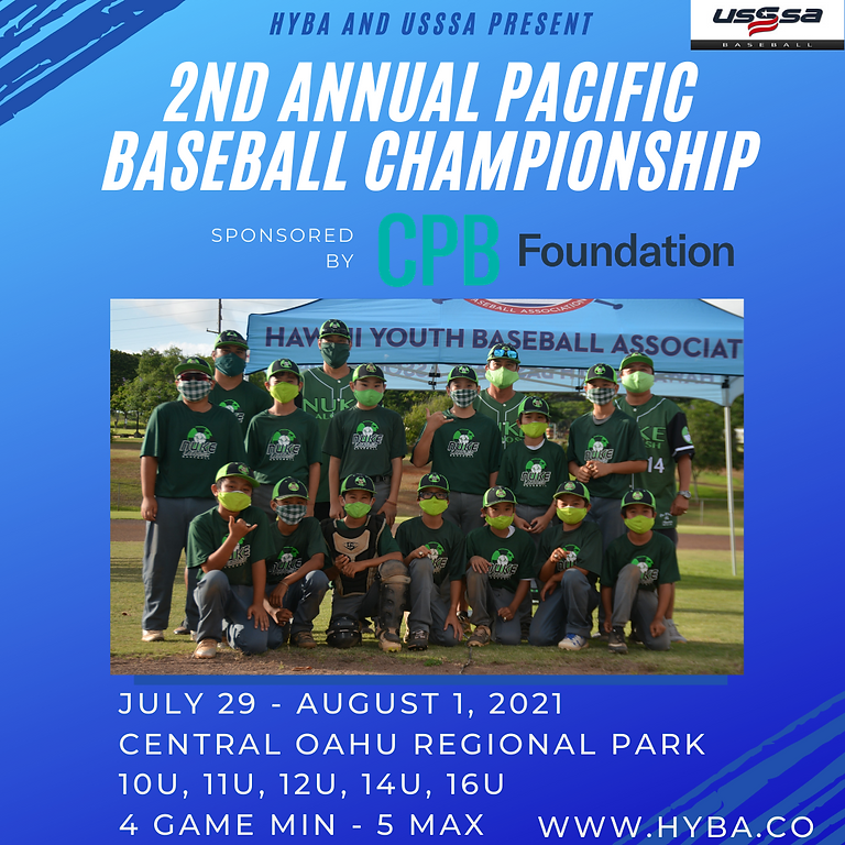 Pacific Baseball Championship Sponsored by CPB Foundation