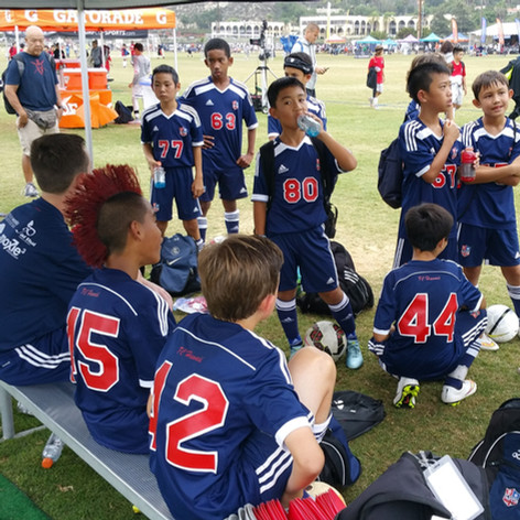 FCH Boys at Surf Cup