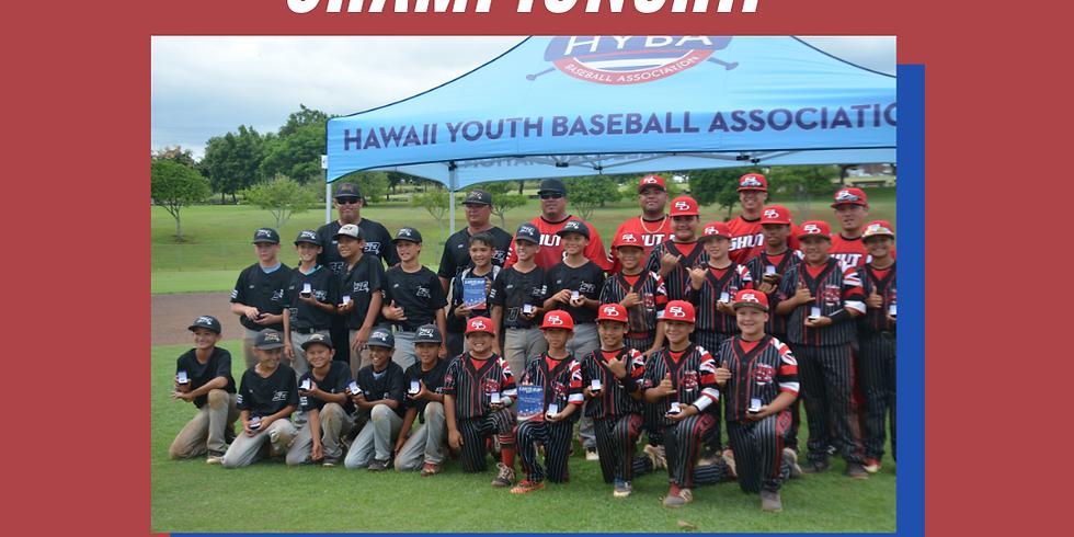 HYBA USSSA Pacific Baseball Championship (10U, 11U, 13U, 15U)