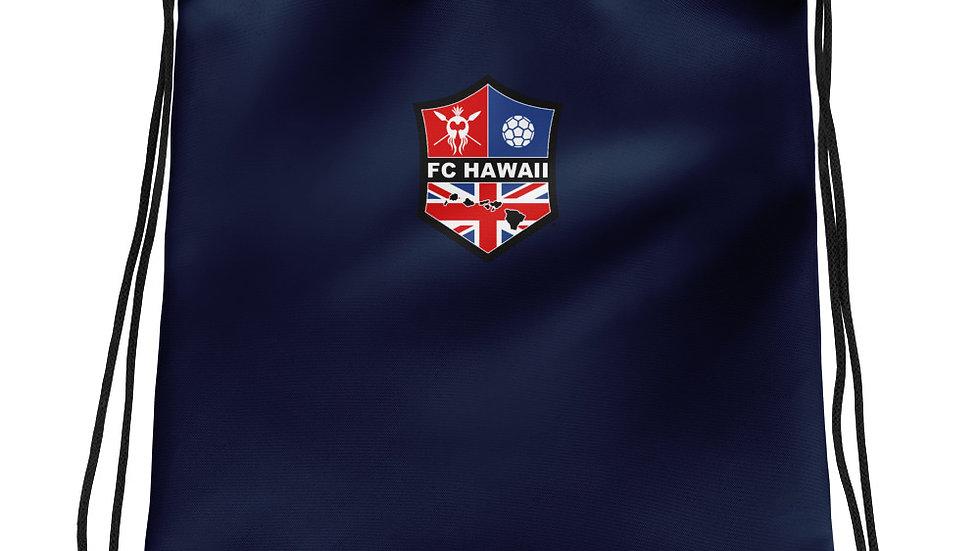 FCH Navy Drawstring Bag