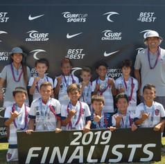 U10 Surf Cup Finalists 2019