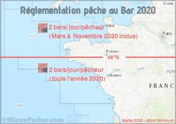 Pêche au bar en 2020