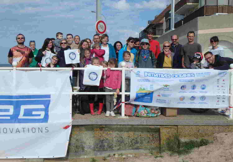 Chantier bénévole à Bernières/mer