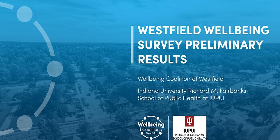 Wellbeing Coalition of Westfield Survey Presentation