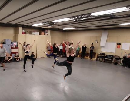 Newsies Dance Masterclass
