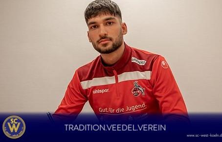 WestAlumni - Yusuf Örnek verlängert seinen Vertrag beim 1. FC Köln