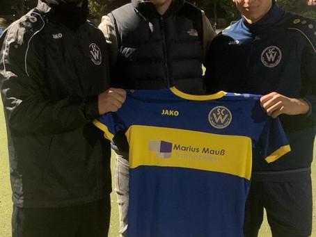 WestSponsoring - Marius Mauß Immobilien sponsort unsere U19
