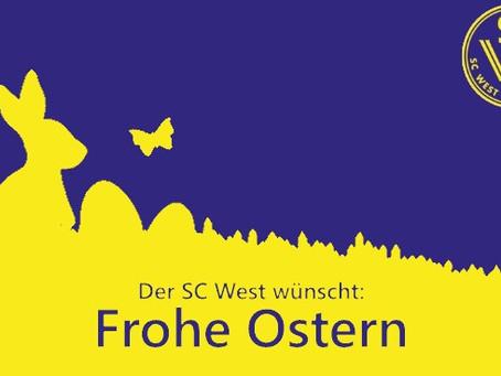WestJugend - Der SC West wünscht frohe Ostern