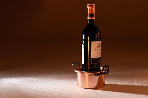 Blacksmith Bakır Şarap Altlığı