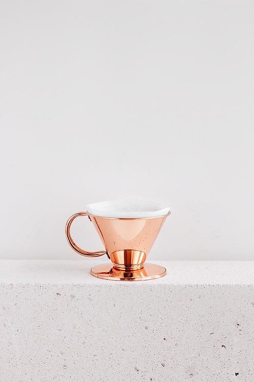 Brew Lab Bakır Kahve Filtresi (Dripper)