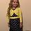 Thumbnail: Mini Moi polka dot dress and shrug