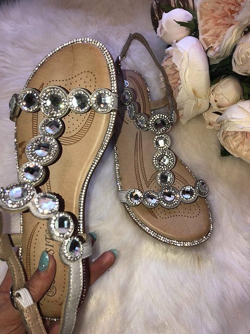 Tiana Embellished Sandals