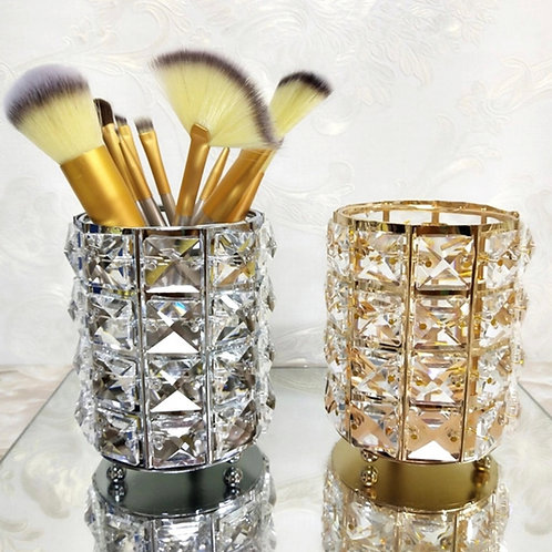 Crystal Luxe Make up Brush Holder