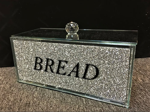 Crushed diamond bread bin