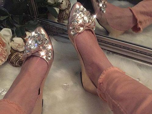 Jewelled Ballerina Pumps