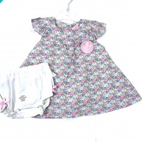 Rock a bye baby floral dress & knickers set 💖