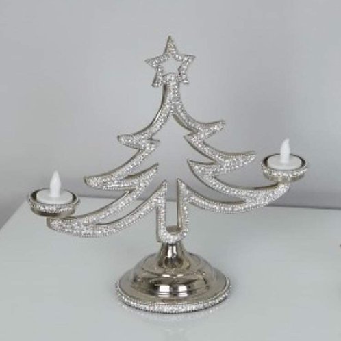 Crystal Christmas Tree tea light holder 🎄