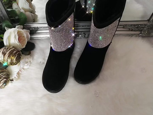 Crystal Luxe Boots
