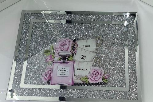 Dior, Prada crushed Diamond chopping board