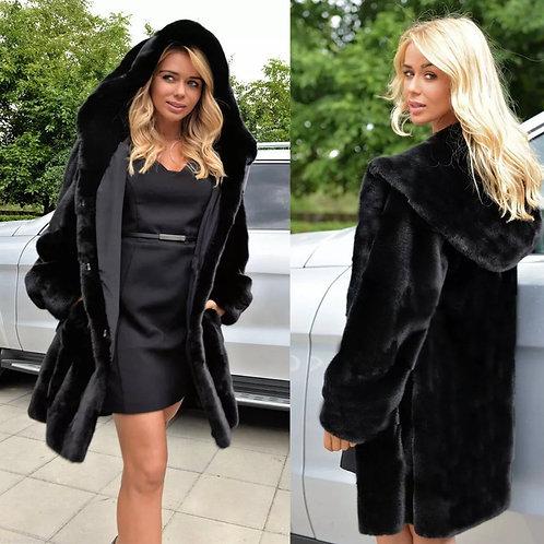 Victoria fleece overcoat