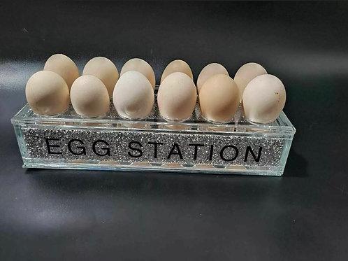 Crushed Diamond egg station