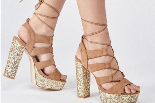 Ciera Glitter Sandals