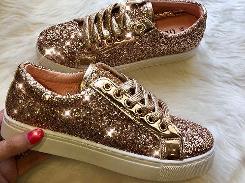Luxe Glitter Sneakers
