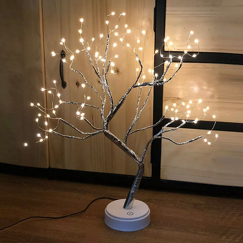 108 LED Christmas Birch Tree Light Up White Twig Tree Easter Home Decorations UK