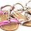 Thumbnail: Girls Jewelled Sandals