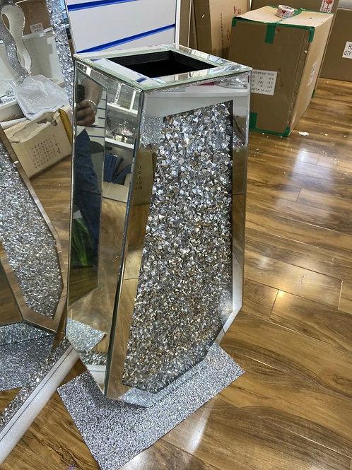 Crushed Diamond vase