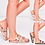 Thumbnail: Crystal strap sliders 💝