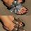 Thumbnail: Crystal embellished bow sliders