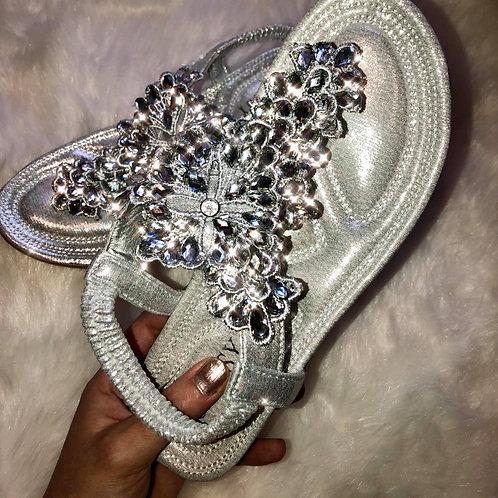 Anastasia Rhinestone Sandals