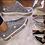 Thumbnail: Silver crystal sneakers