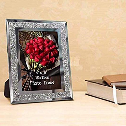 Sparkling photo frames pack of 2