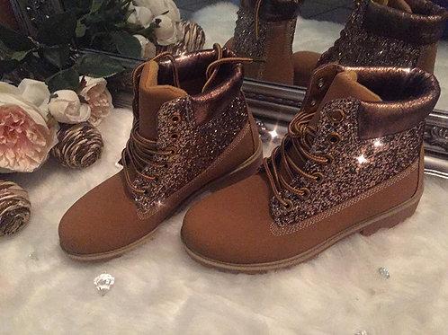 Honey Glitter boots