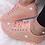 Thumbnail: Peach Glow full glitter trainers